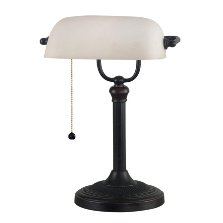 Kenroy Home 21394ORB Amherst Desk Lamp