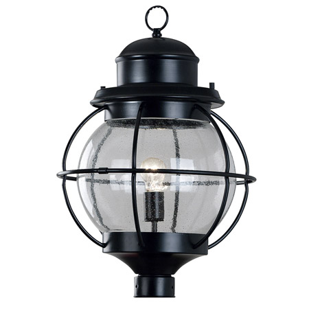Kenroy Home 90967BL Hatteras Indoor / Outdoor Post Mount Fixture