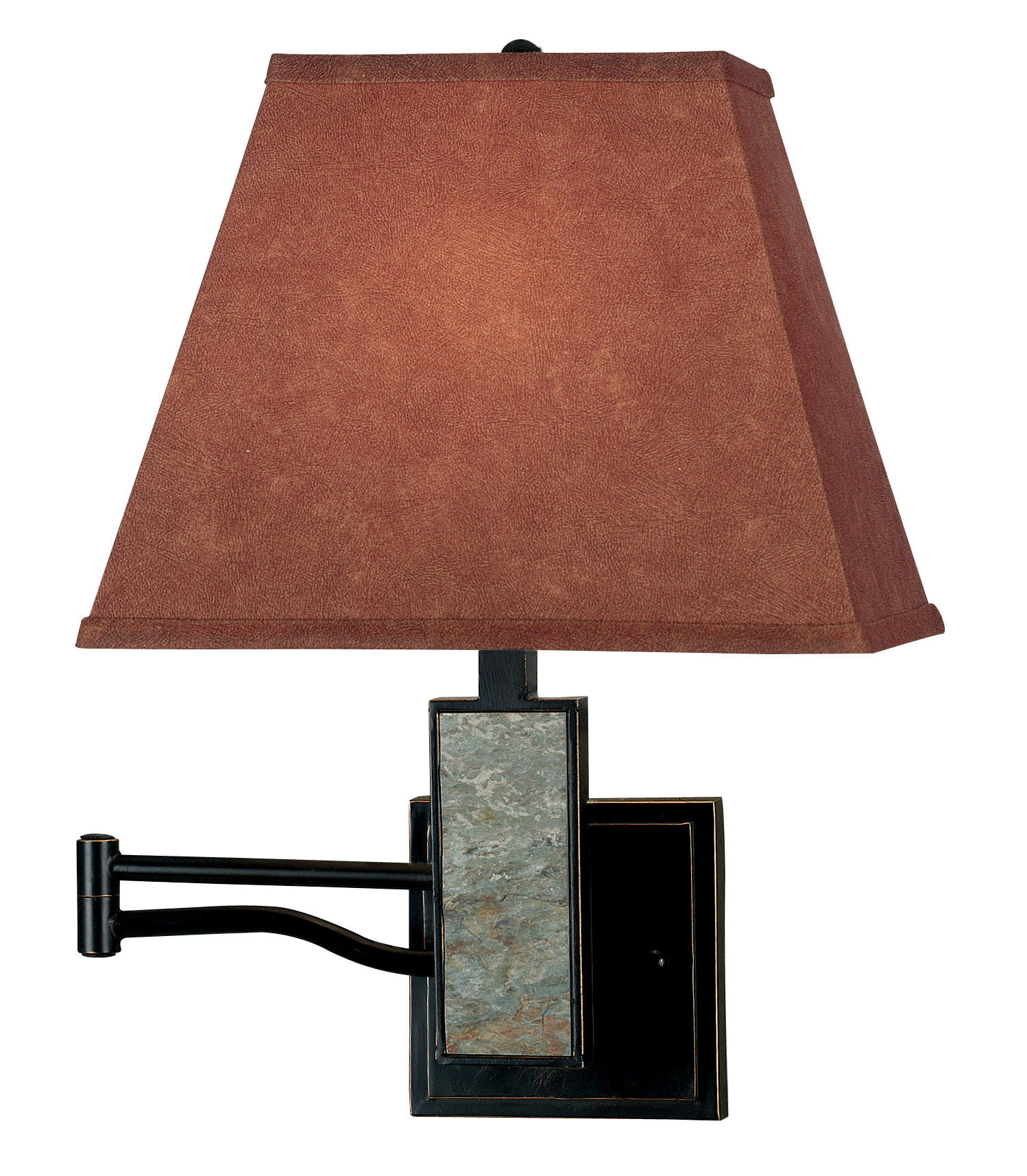 Kenroy Home 20382SL Dakota Swing Arm Wall Lamp