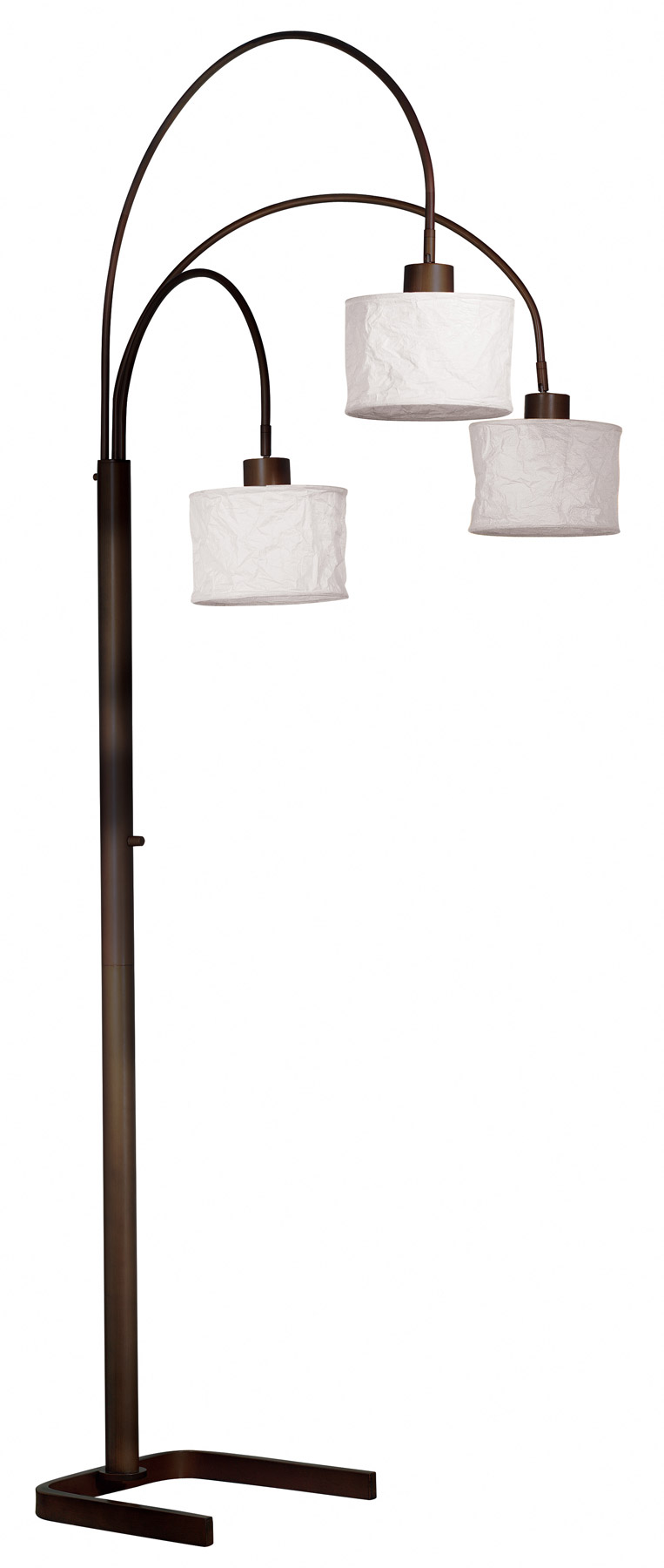Kenroy Home 30674orb Crush Arc Floor Lamp