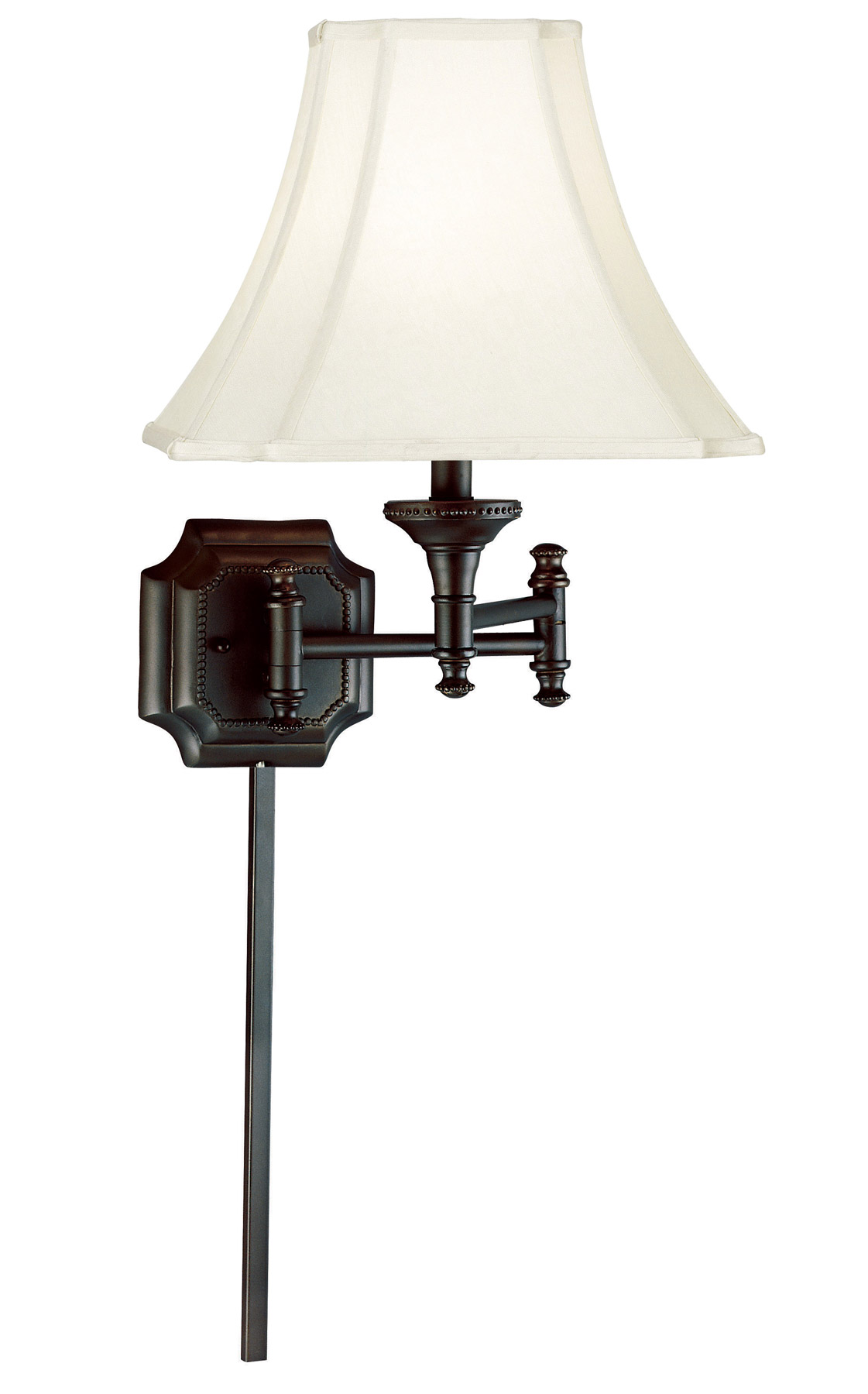 Kenroy Home 33054BBZ Wentworth Swing Arm Wall Lamp