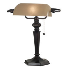 Kenroy Home 20610ORB Chesapeake Desk Lamp