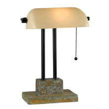 Kenroy Home 21041SL Greenville Banker Lamp Desk Lamp