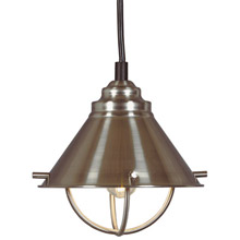 Kenroy Home 66342BS Harbour Mini Pendant