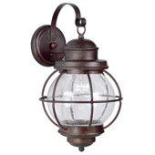 Traditional Hatteras Indoor / Outdoor Wall Lantern - Kenroy Home 90962GC