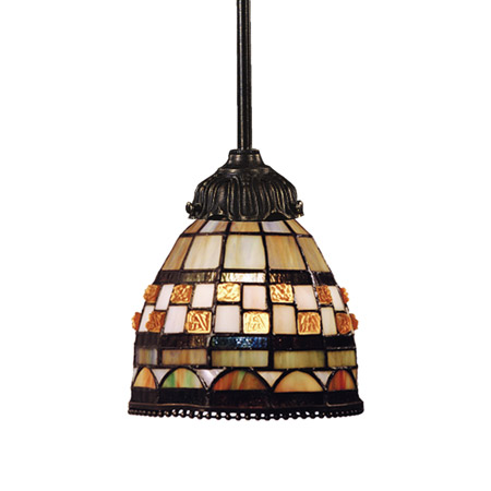 Elk Lighting 078-TB-10 Tiffany Mix-N-Match Mini Pendant