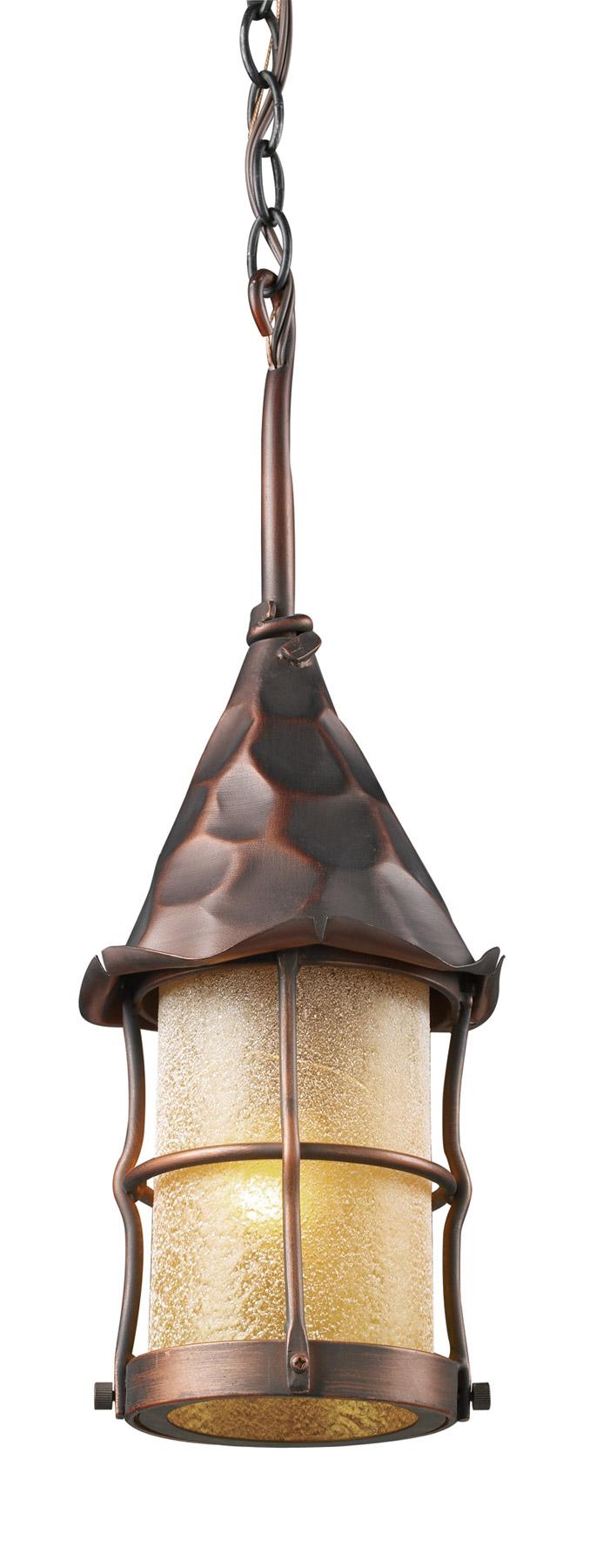 Elk Lighting 388 Ac Rustica Outdoor Hanging Lantern