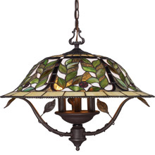 Elk Lighting 08016 TBH Tiffany Latham Hanging Lamp