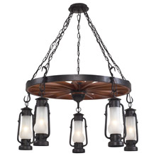 Elk Lighting 65007-5 Stagecoach Five Light Chandelier