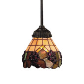 Tiffany Mix-N-Match Mini Pendant - Elk Lighting 078-TB-07