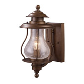 Classic/Traditional Wikshire Outdoor Wall Mount Lantern - Elk Lighting 62005-1
