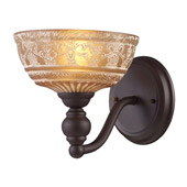 Classic/Traditional Norwich Wall Sconce - Elk Lighting 66190-1