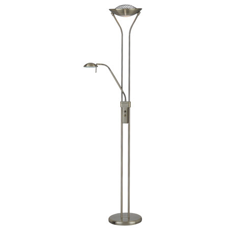 Lite Source Ls 80984ab Duality Torchiere Floor Lamp With