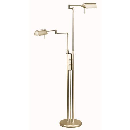 Lite Source Ls 974ab Pharma Double Swing Arm Floor Lamp