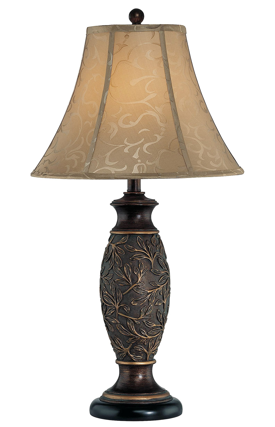 Lite source c41162 gentry table lamp - Chandelier desk lamp ...