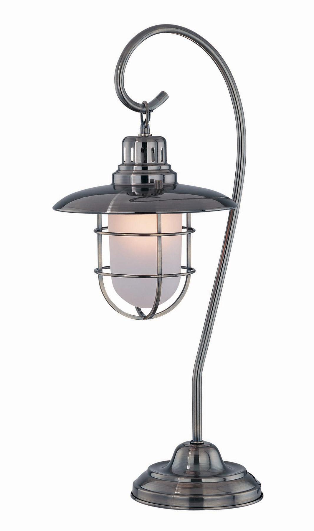 lite source ls 21455ab lanterna lantern table lamp