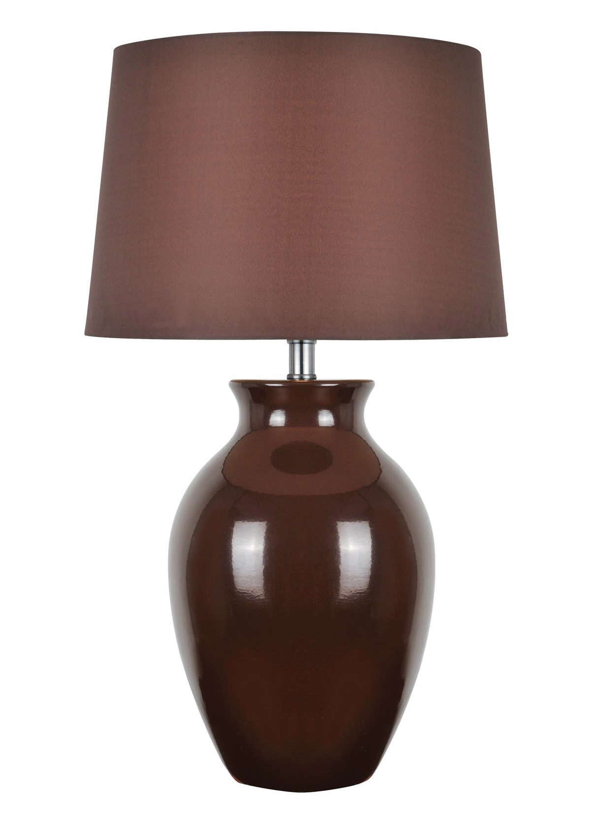 Lite Source Ls 22219brn Maya Brown Table Lamp