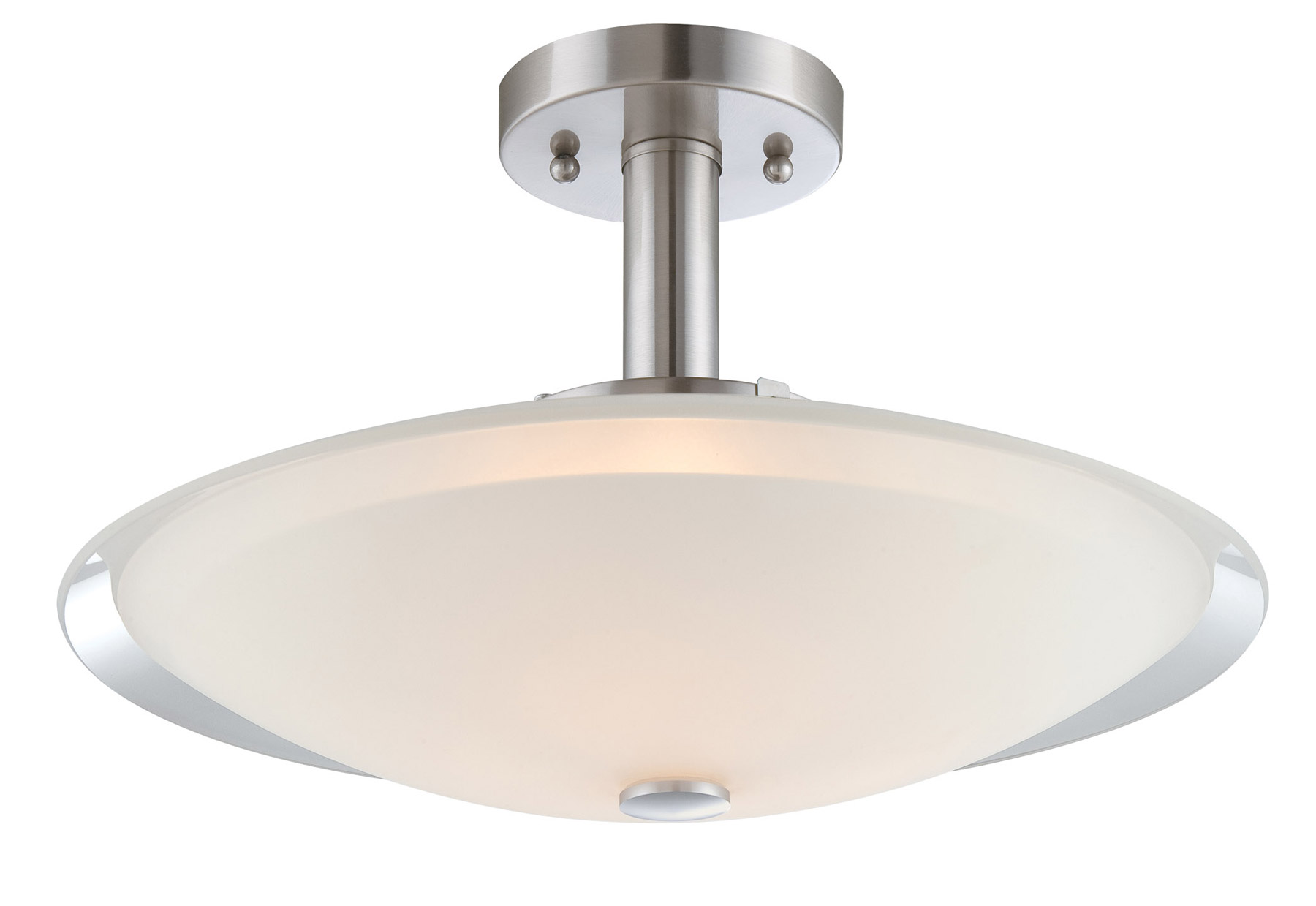 Lite Source LS 5435 Natharie Semi Flush Mount Ceiling