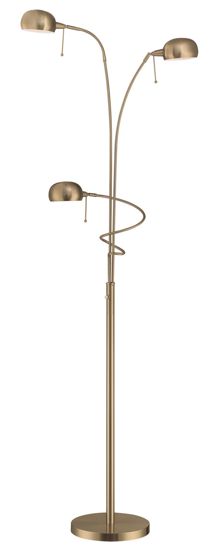 home lamps floor lamps bridge arm floor lamps lite source. Black Bedroom Furniture Sets. Home Design Ideas