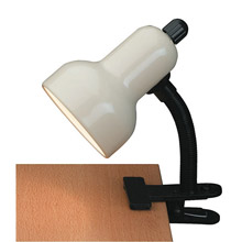 Lite Source LS-111IVY Clip-On Clip-On Desk Lamp