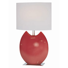 Lite Source LS-21335RED Spazio Table Lamp