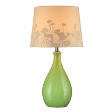 Lite Source LS-21489GRN Table Lamp