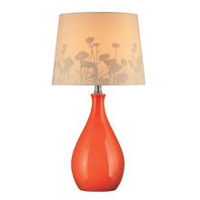 Lite Source LS-21489ORN Table Lamp
