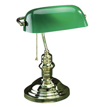 Lite Source LS-224AB Banker's Desk Lamp