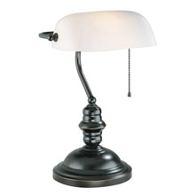 Lite Source LS-224D/BRZ Banker's Desk Lamp