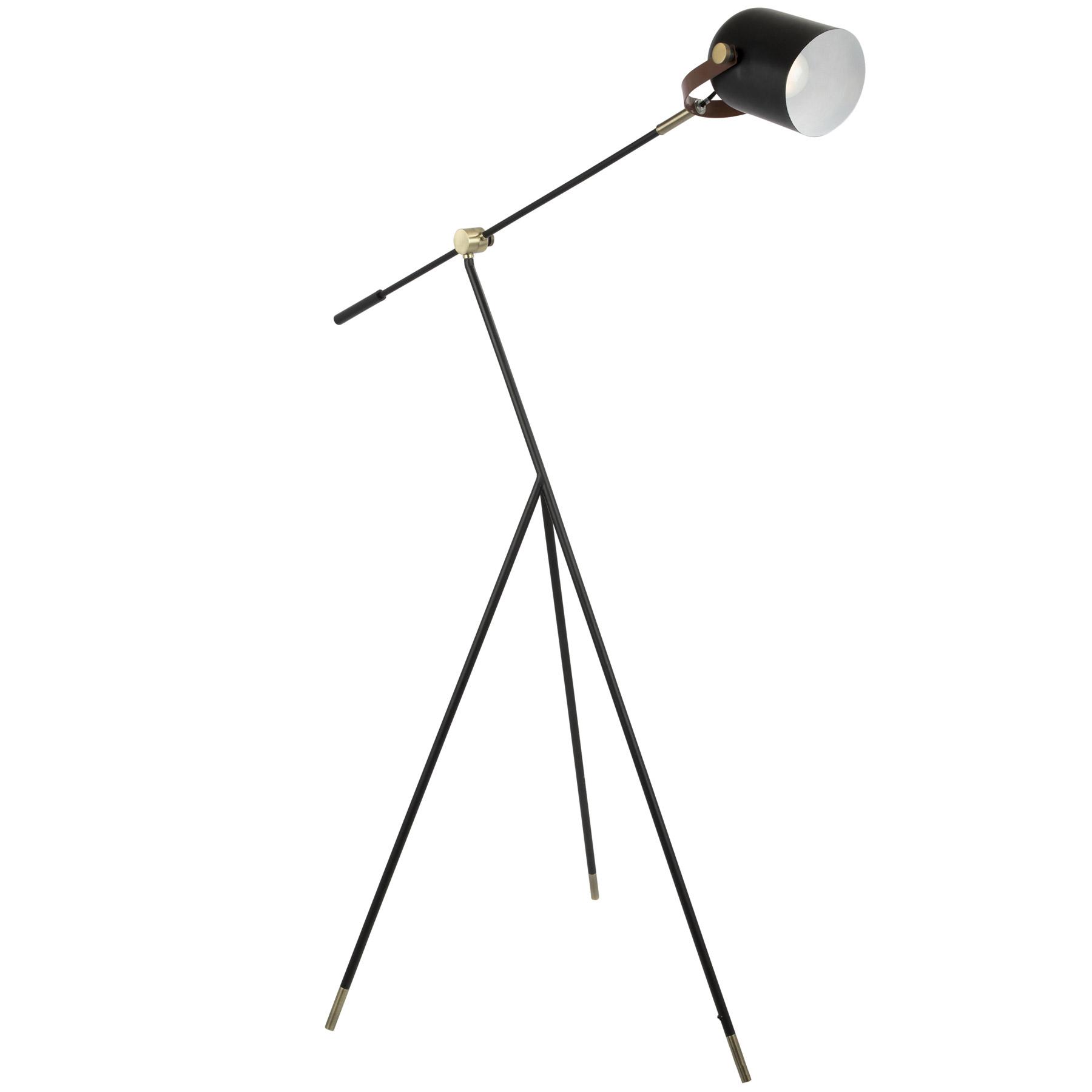 Lumisource l hywdfl aubk hayward floor lamp aloadofball Gallery
