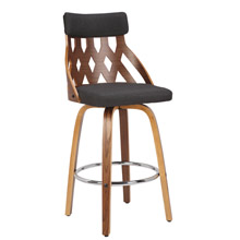 LumiSource B26-YRK WL+CHAR York Counter Stool