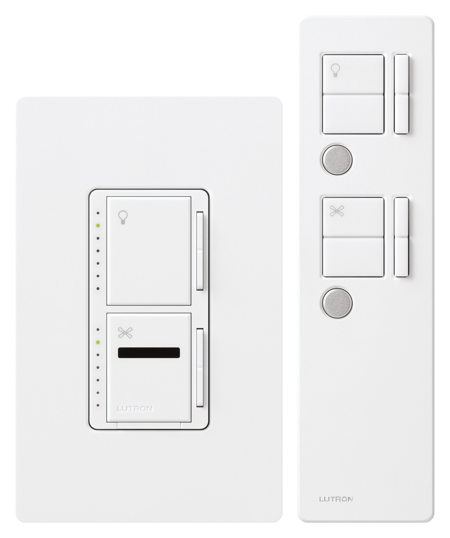 Dimmer And Fan Control Switch Home Design Ideas Light Wiring Diagram Lutron S2 Lfsq Mir Lfqmt Wh Maestro Ir 120v Multi Location Dual Incandescent