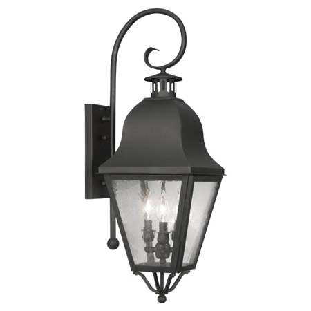 Livex Lighting 2555-04 Amwell Outdoor Wall Lantern