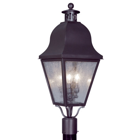 Livex Lighting 2556-07 Amwell Outdoor Post Mount