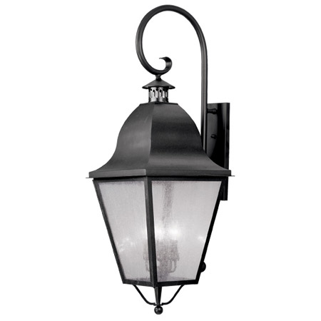 Livex Lighting 2559-04 Amwell Outdoor Wall Mount Lantern