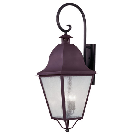 Livex Lighting 2559-07 Amwell Outdoor Wall Mount Lantern