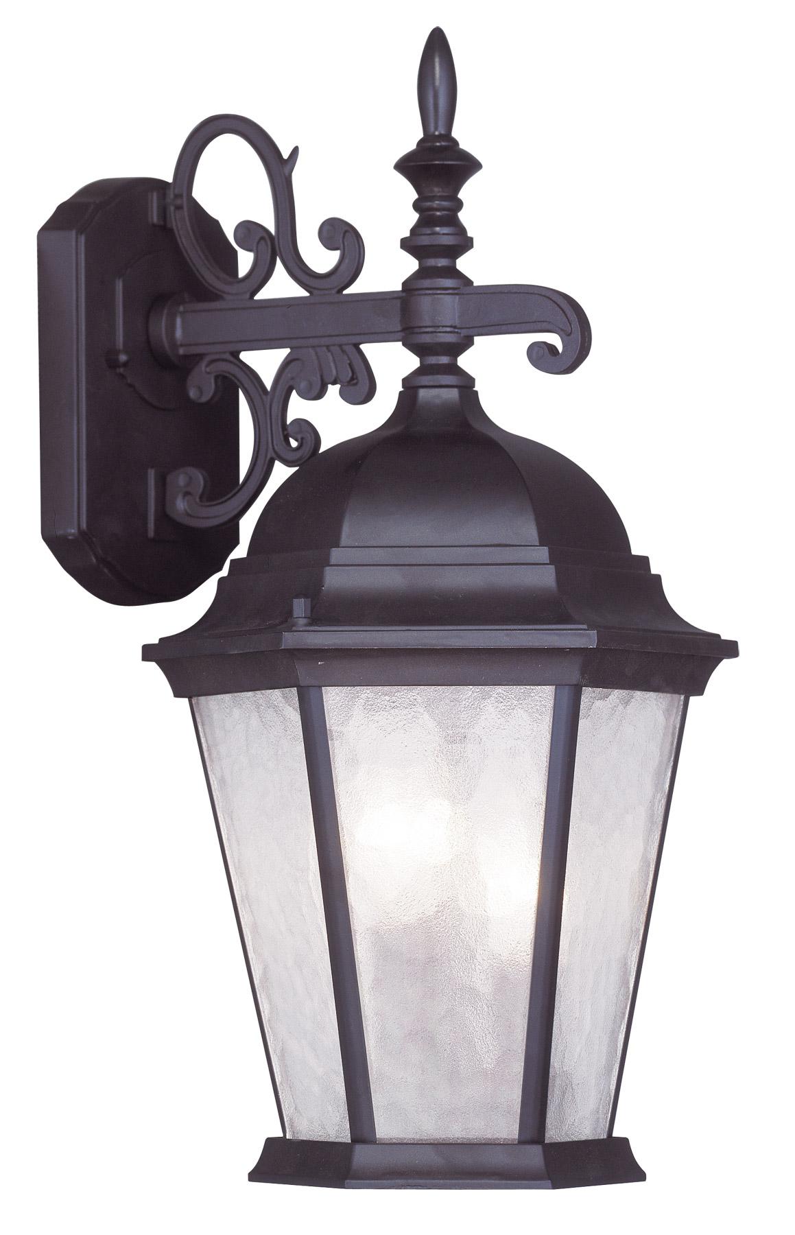 7510-07 Livex Lighting Hamilton Outdoor Ceiling Mount in Bronze