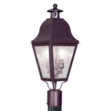 Livex Lighting 2552-07 Amwell Outdoor Post Mount