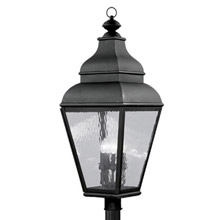 Livex Lighting 2608-04 Exeter Outdoor Post Mount Fixture