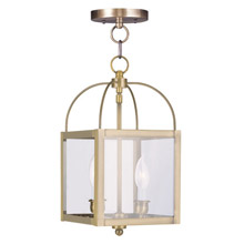 Livex Lighting 4041-01 Milford Convertible Lantern