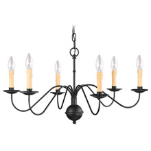 Livex Lighting 4450-04 Heritage Six Light Chandelier