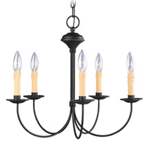Livex Lighting 4455-04 Heritage Five Light Chandelier