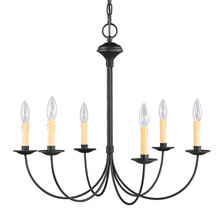 Livex Lighting 4456-04 Heritage Six Light Chandelier