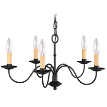 Livex Lighting 4465-04 Heritage Five Light Chandelier
