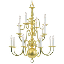 Livex Lighting 5016-02 Williamsburg Sixteen Light Chandelier