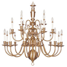 Livex Lighting 5321-22 Beacon Hill Twenty-One Light Chandelier