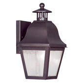 Traditional Amwell Outdoor Wall Lantern - Livex Lighting 2550-07