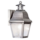 Traditional Amwell Outdoor Wall Lantern - Livex Lighting 2550-29
