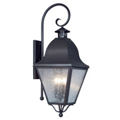 Traditional Amwell Outdoor Wall Lantern - Livex Lighting 2558-04