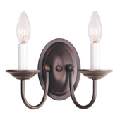 Traditional Home Basics Wall Sconce - Livex Lighting 4152-07